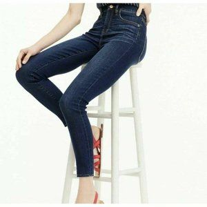 J.Crew Lookout High Rise Skinny Jean Blue Sz 24 (2